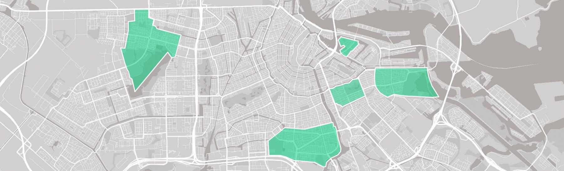 RESILIO - Blauw-groene daken - Plattegrond